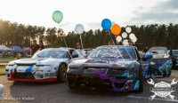 All Star Drift training + Riga city parade 01.08