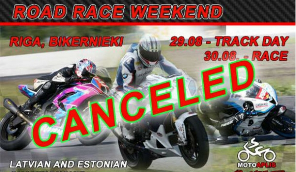 Road race weekend - canceled!